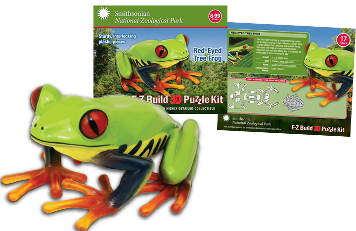 Tree Frog 3D Puzzle