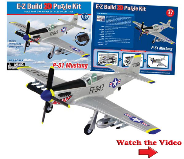 P51 Mustang Puzzle