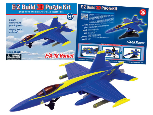 F18 Blue Angel Puzzle