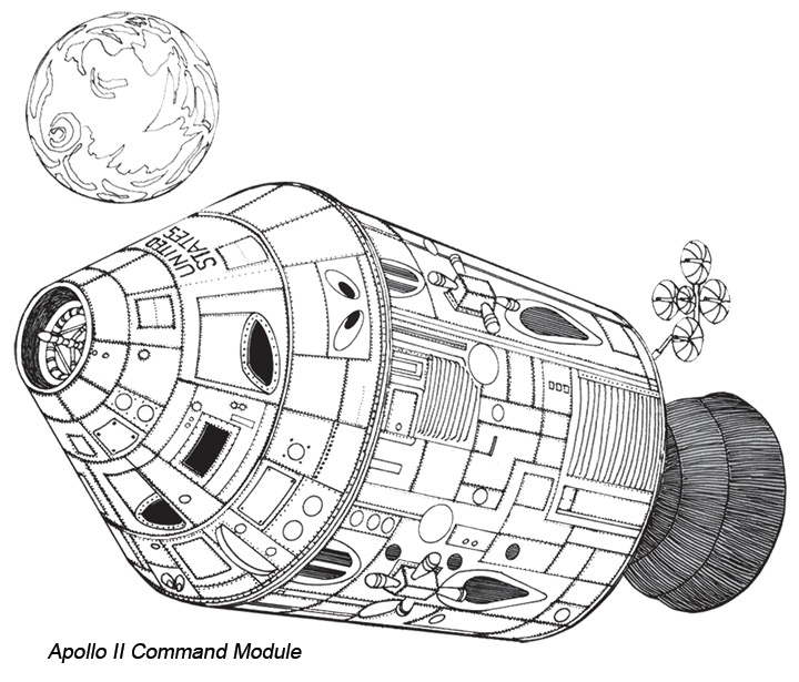 free apollo 11 coloring pages - photo#16