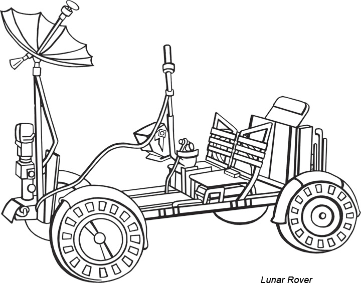 diagram of a nasa rover