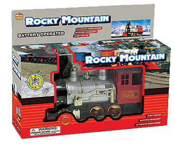 Rocky mountain battery operated train set reviews