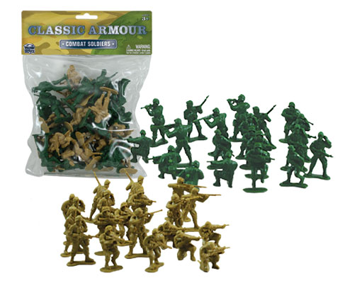 200 Pieces Green /& Gray Military Soldier Figures Army Men Toy Set for Kids